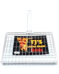 Stainless steel big box braai grid